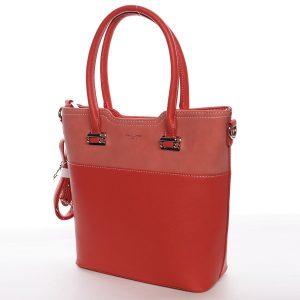 Dámská kabelka David Jones Mirka – červená