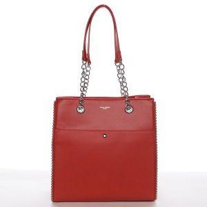 Dámská kabelka David Jones Iva – červená