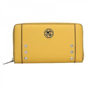 Dámská peněženka Marina Galanti Emma – žlutá