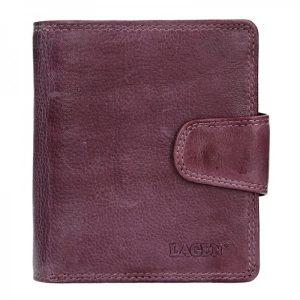 Dámská kožená peněženka Lagen Marla – fialová