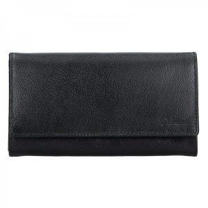 Dámská kožená peněženka Diviley Tinna – černá
