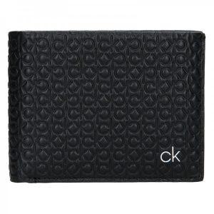 Pánská kožená peněženka Calvin Klein Ralf – černá