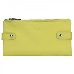 Dámská kožená peněženka Katana Wendy – žlutá