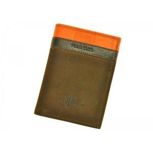 Pánská kožená peněženka Harvey Miller Morro – hnědá