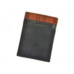 Pánská kožená peněženka Harvey Miller Morro – černá