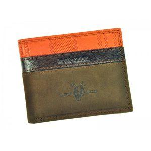 Pánská kožená peněženka Harvey Miller Lincoln – hnědá