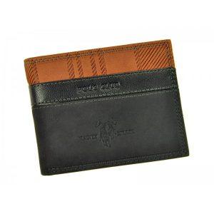 Pánská kožená peněženka Harvey Miller Lincoln – černá