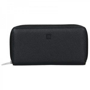Dámská peněženka Hexagona Double – černá