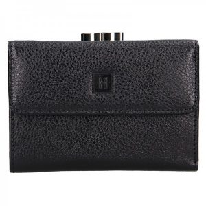 Dámská kožená peněženka Hexagona Fiona – černá