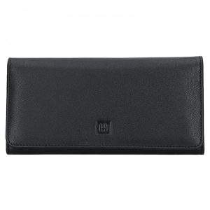 Dámská kožená peněženka Hexagona Alma – černá