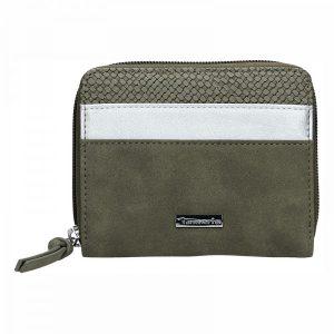 Dámská peněženka Tamaris Khemma Zip – zelená (khaki)