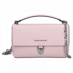 Dámská crossbody kabelka Calvin Klein Amalia – růžová