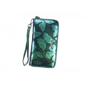Dámská kožená peněženka Lorenti Sara – zelená