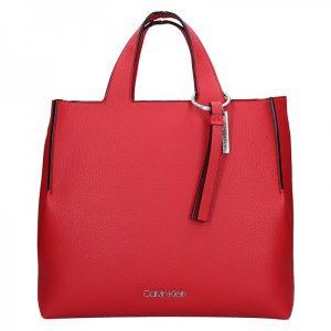 Dámská kabelka Calvin Klein Neah – červená