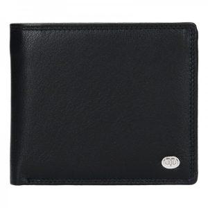 Pánská kožená peněženka DD Anekta Tibor – černá
