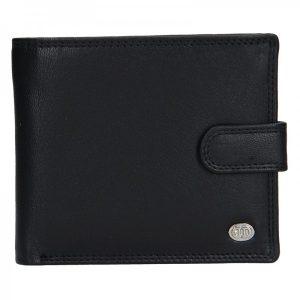 Pánská kožená peněženka DD Anekta Hubert – černá