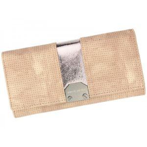 Dámská kožená peněženka Pierre Cardin Karin – růžová