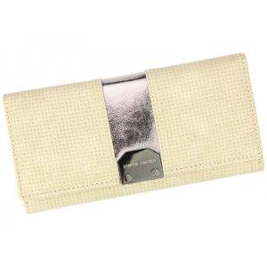 Dámská kožená peněženka Pierre Cardin Karin – písková