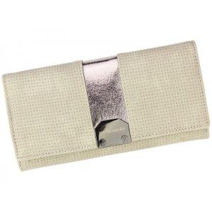 Dámská kožená peněženka Pierre Cardin Karin – béžová
