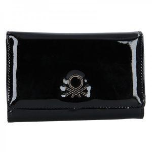 Dámská peněženka United Colors of Benetton Zacke – černá