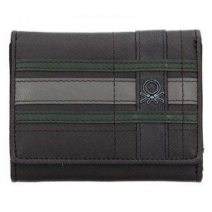 Pánská peněženka United Colors of Benetton Paul – tmavě hnědá