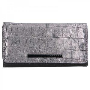 Dámská peněženka Sisley Zelda – stříbrná
