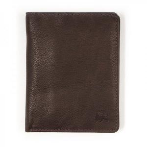 Kožená pánská peněženka Lerros Ellis – hnědá