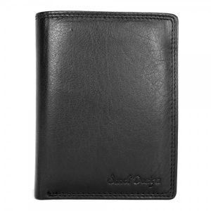 Pánská kožená peněženka SendiDesign 321 – černá