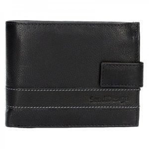 Pánská kožená peněženka SendiDesign 43 – hnědá