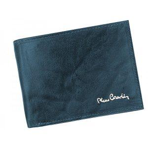 Pánská kožená peněženka Pierre Cardin Tilla – modrá