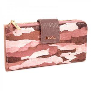 Dámská peněženka Doca 64953 – růžová