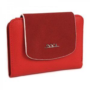 Dámská peněženka Doca 64951 – červená