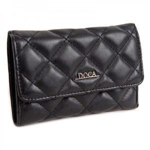 Dámská peněženka Doca 650010 – černá