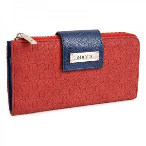 Dámská peněženka Doca 64913 – červená