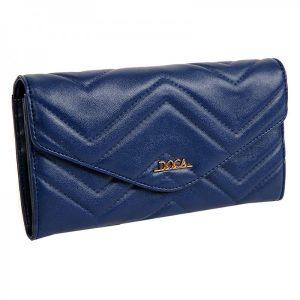 Dámská peněženka Doca 65016 – modrá