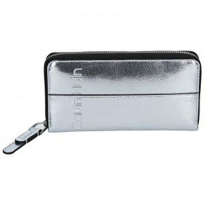 Dámská peněženka Calvin Klein Marionet – stříbrná
