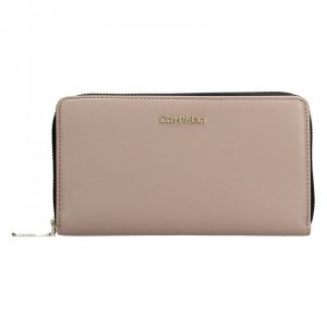 Dámská peněženka Calvin Klein Narra – béžová