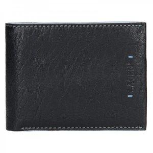 Pánská kožená peněženka Lagen Tobias – černá