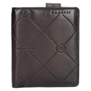 Pánská kožená peněženka Bugatti Heinrich – tmavě hnědá