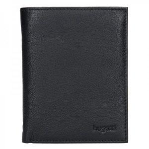 Pánská kožená peněženka Bugatti Otto – černá