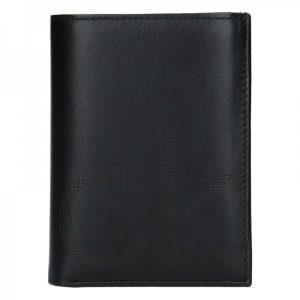 Pánská kožená peněženka Calvin Klein Manuel – černá