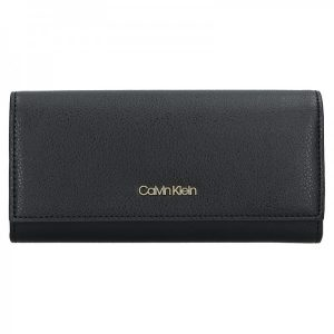 Dámská peněženka Calvin Klein Greta – černá