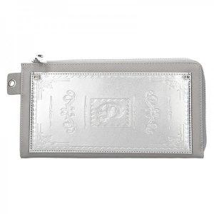 Dámská peněženka Doca 65200 – stříbrná