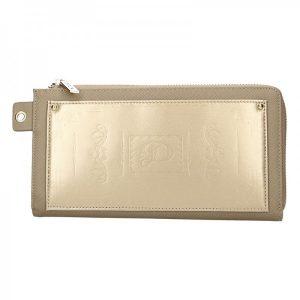 Dámská peněženka Doca 65199 – zlatá