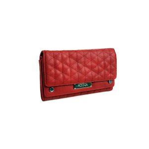 Dámská peněženka Doca 65066 – červená