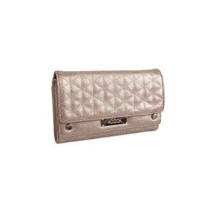 Dámská peněženka Doca 65065 – stříbrná