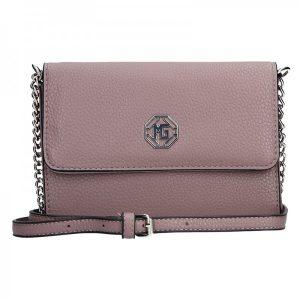 Dámská crossbody kabelka Marina Galanti Alessandra – růžová