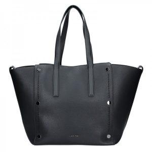Dámská kabelka Calvin Klein Kamelie – černá