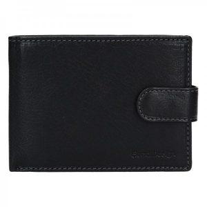 Pánská kožená peněženka SendiDesign Leon – černá