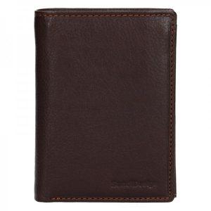 Pánská kožená peněženka SendiDesign Martin – hnědá